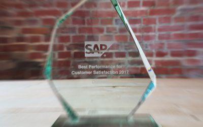 Award hoogste score klanttevredenheid 2017 voor Domani Business Solutions