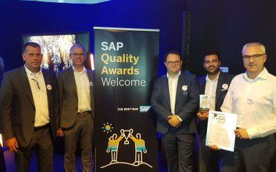 Gouden Quality Award Innovation voor RSC Anderlecht en Domani Business Solutions