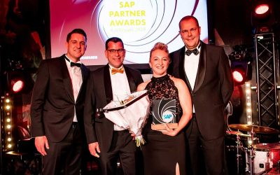 Domani Business Solutions ontvangt Award SAP Business One Partner of the Year 2019