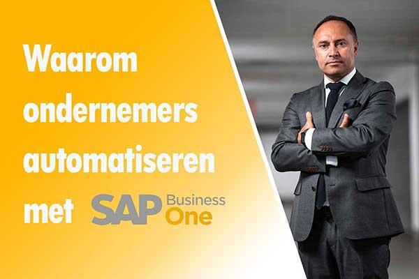 waarom automatiseren met SAP Business One